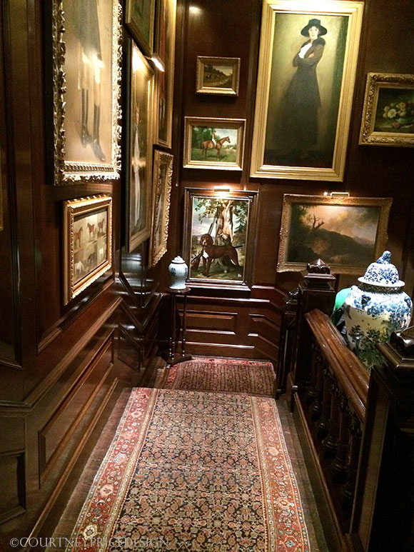 Ralph Lauren Stairwell, flagship, story behind the mansion on www.CourtneyPrice.com