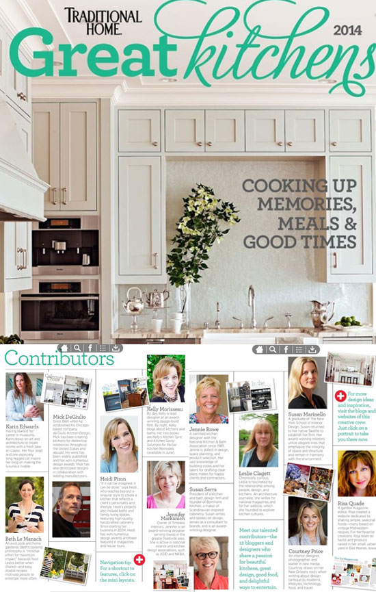 Traditional-Homes-Great-Kitchens Contributors www.CourtneyPrice.com