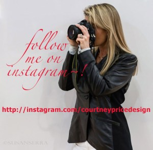 Follow me on Instagram : CourtneyPriceDesign