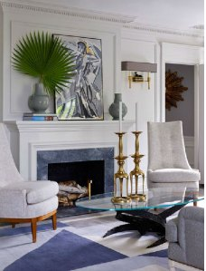 Interior Design by Jean-Louis Deniot, and interview- on www.CourtneyPrice.com