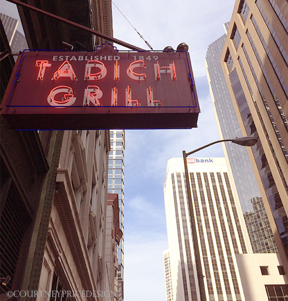 Tadich Grill, oldest restaurant in San Francisco, on www.CourtneyPrice.com