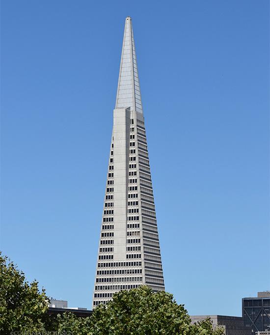 Transamerica Bldg, San Francisco Travel Guide on www.CourtneyPrice.com  http://wp.me/p2e5e8-3Or