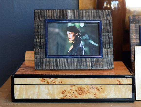 Burled Wood Box on www.CourtneyPrice.com