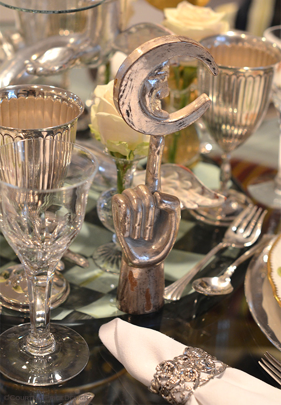 Pedro Friedeberg collection, dinner parties at home, on www.CourtneyPrice.com