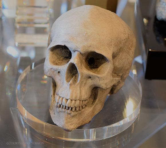 Skull on www.CourtneyPrice.com