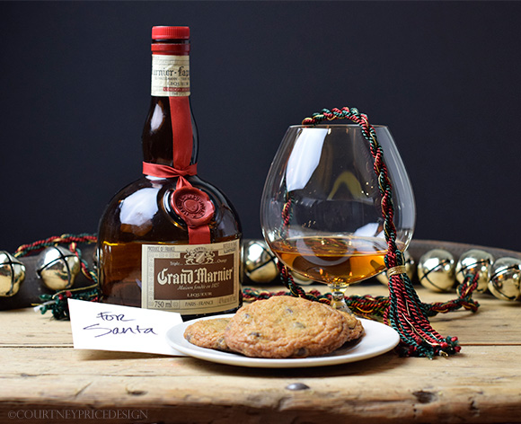 Santa deserves MORE than a glass of milk~  on www.CourtneyPrice.com