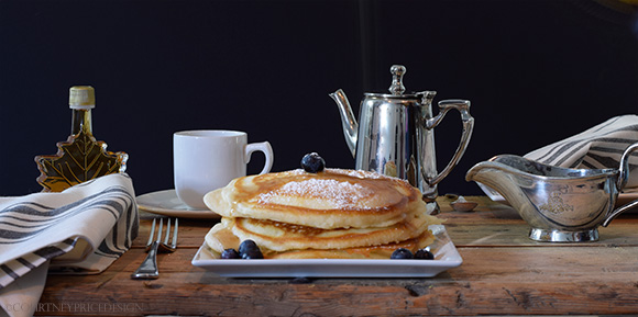 How to make the best Pancakes ever, on www.CourtneyPrice.com