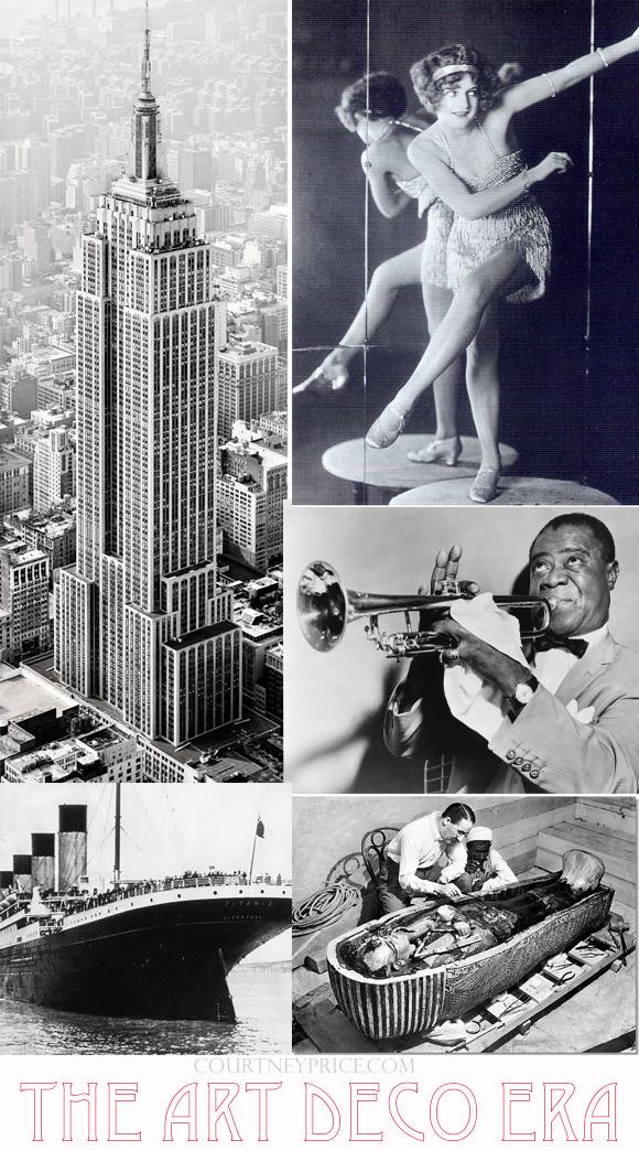 The Art Deco Era on www.CourtneyPrice.com