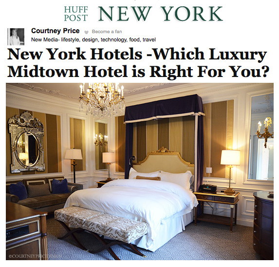 Huff Post - NY Hotels - www.CourtneyPrice.com