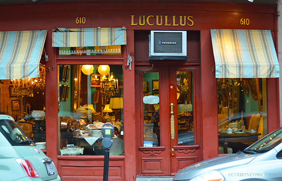 Lucullus New Orleans, on www.CourtneyPrice.com