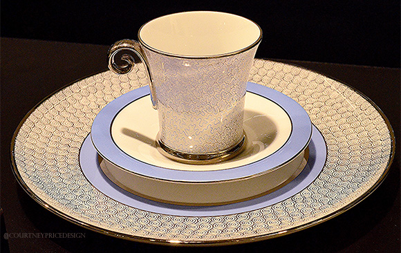 Blue And White China, Dining Trends on www.CourtneyPrice.com