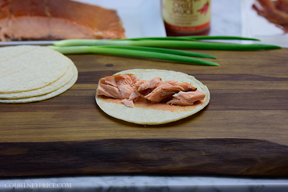 Smoked Salmon Club Tacos- Best Fish Taco on the planet: on www.CourtneyPrice.com http://wp.me/p2e5e8-4xV