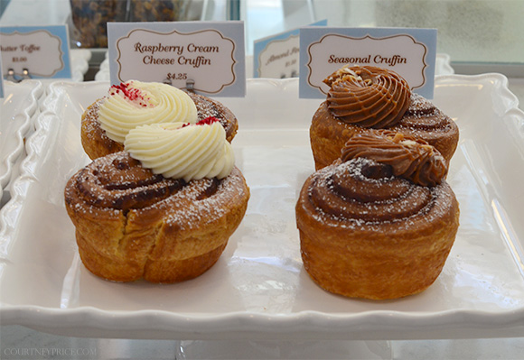 Cruffins--  Dallas: Bisous Bisous Patisserie on www.CourtneyPrice.com
