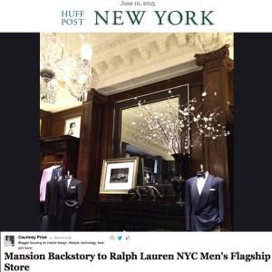Ralph Lauren's Rhinelander Mansion on Huffington Post:http://www.huffingtonpost.com/courtney-price/rhinelander-mansion-home-_b_7520462.html