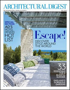 Architectural Digest, travel