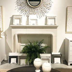 Denise McGaha Mantels, High Point Market, as seen on www.courtneyprice.com
