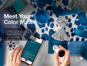 color match, paint match, color reader, shazam for color