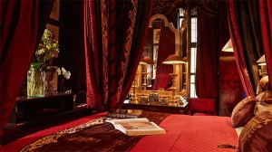 The Cardinal Suite at Blakes Hotel in London, as seen on www.CourtneyPrice.com