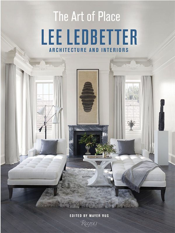 Lee Ledbetter's new book, The Art of Place, as seen on www.CourtneyPrice.com
