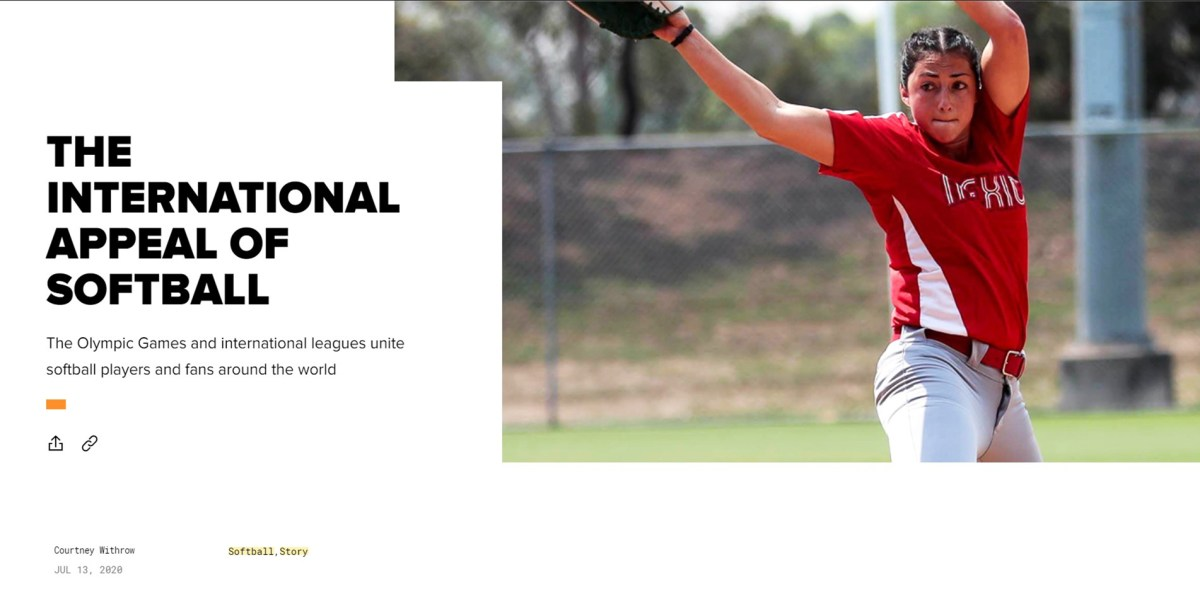 Athletes Unlimited article