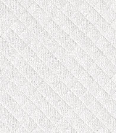 tissu jersey matelasse blanc