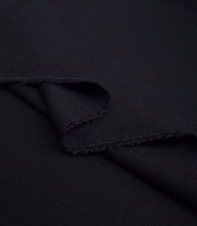 tissu gabardine de laine navy