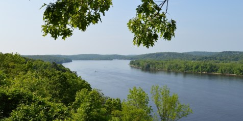 The Connecticut River from Gillette Castle