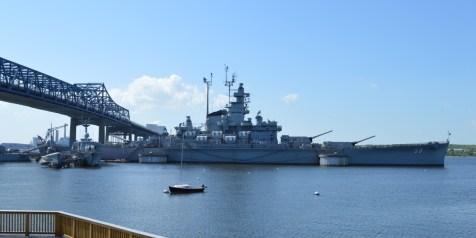 USS Massachusetts in Battleship Cove Fall River, Massachusetts
