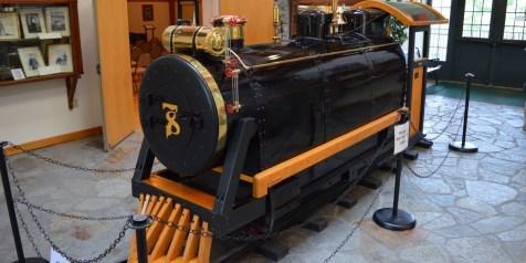 William Gillette's Seventh Sister Railroad Engine