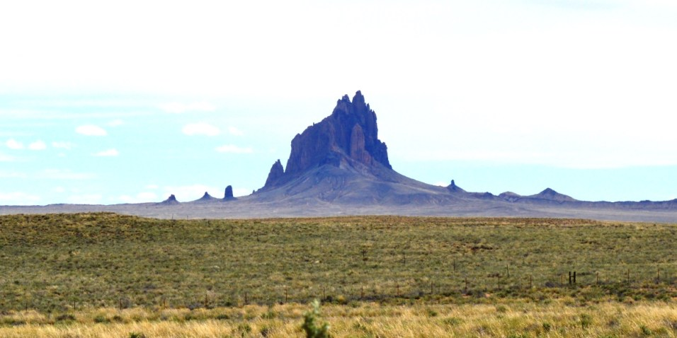 Shiprock near Four Corners