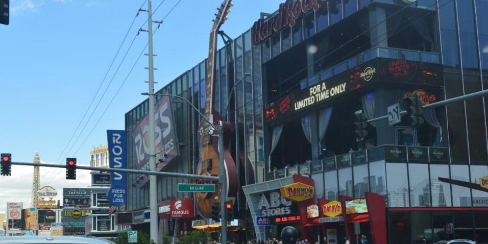 Las Vegas Strip Hard Rock Cafe
