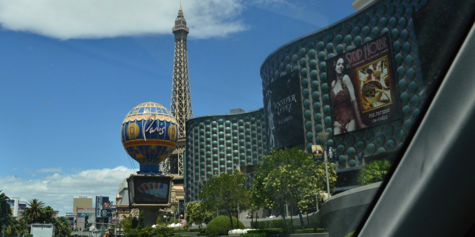 Las Vegas Strip Paris