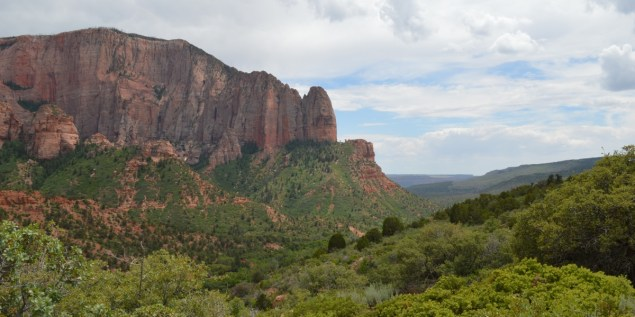Kolob Canyon and distance