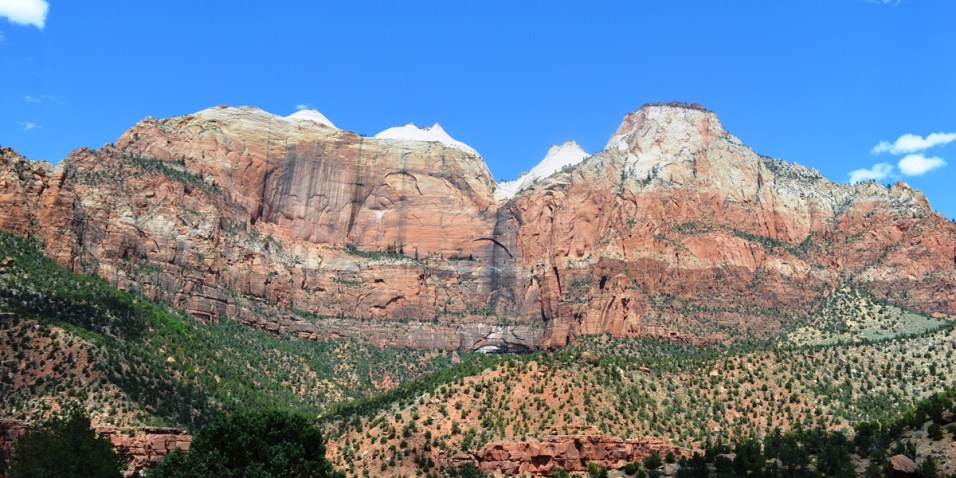 Zion Canyon N.P. - after the long tunnel