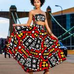 womens dashiki designs retro style gown