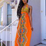 womens dashiki designs styles gown