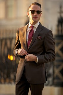 popular suit colors men brown