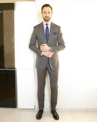 popular suit colors men grey