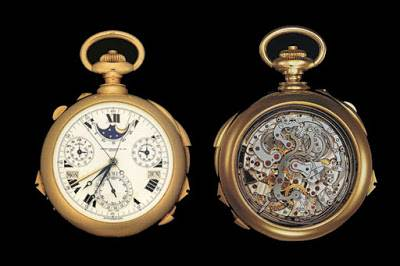Patek Phillipe henry Graves Super Complication Watch $11million image