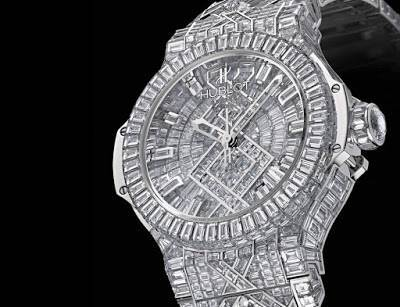 hublot diamond watch image