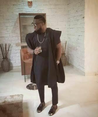 Timaya nigerian celebrity agbada image