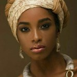 Best Gele Styles black and white