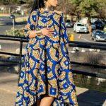 kitenge ankara gown image