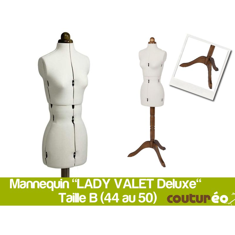 mannequin de couture lady valet deluxe b taille 44 50 coutureo