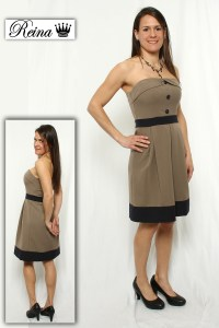 Robe style Samanta plus court