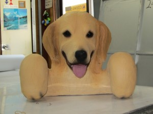 べルシアン 犬造形