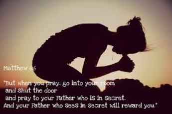 prayer in secret