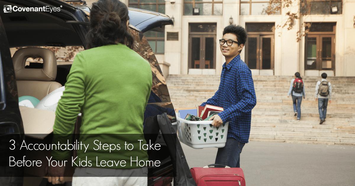 accountability before kids leave home
