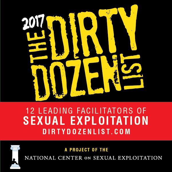 Dirty Dozen List 2017