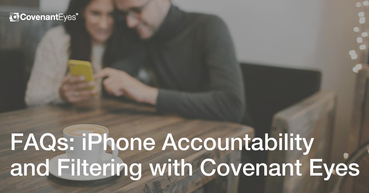 Iphone accountability